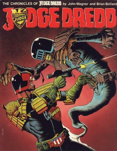 Chronicles of Judge Dredd volume 1 Artwork by Brian Bolland