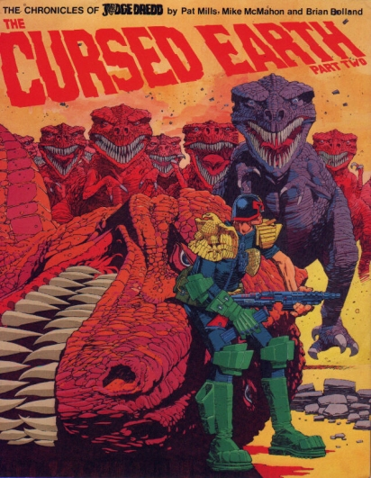 The Cursed Earth part 2. Artwork by Mike McMahon