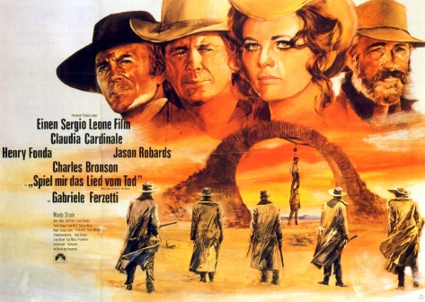 Once Upon a Time in the West Italian poster
