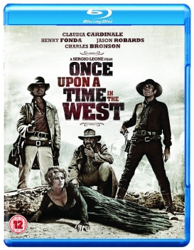 Once Upon a Time in the West Blu-ray cover
