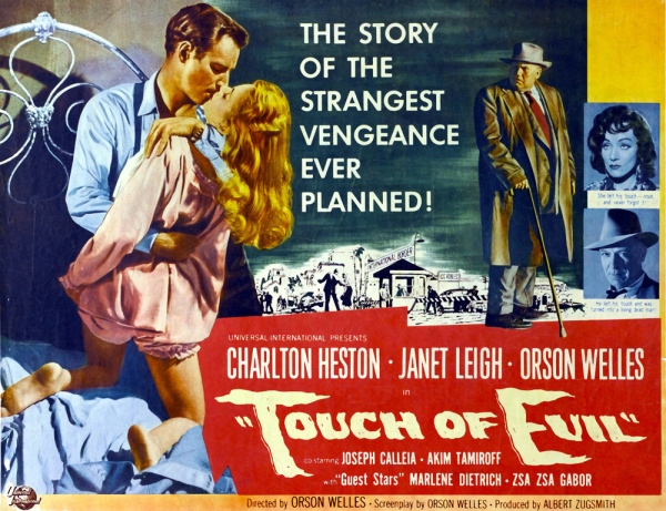 Original theatrical release poster for Touch of Evil