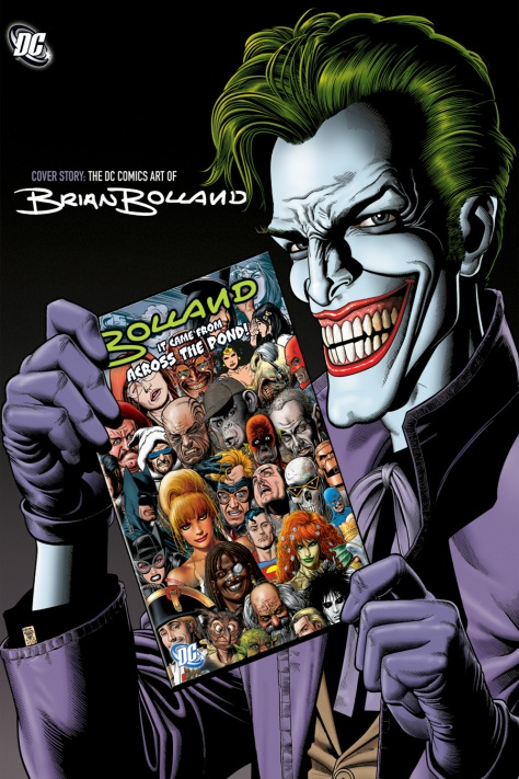 The DC Comics Art of Brian Bolland