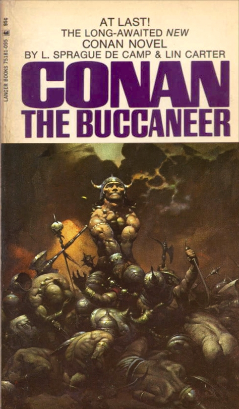Conan The Buccaneer by Frank Frazetta