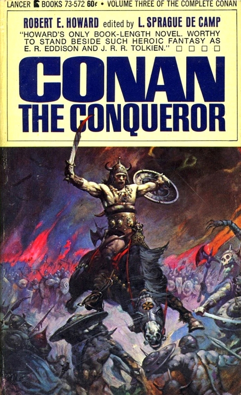 Conan The Conqueror by Frank Frazetta