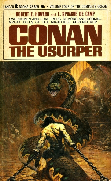 Conan The Usurper by Frank Frazetta