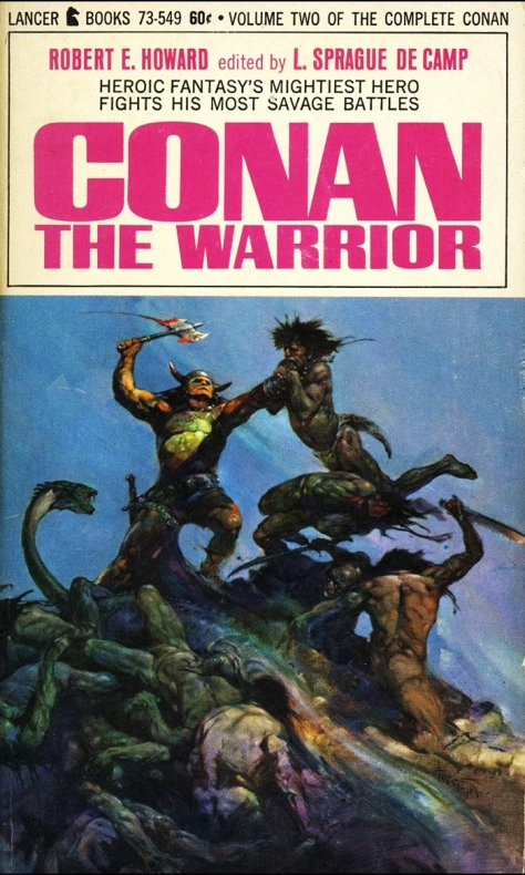 Conan The Warrior by Frank Frazetta