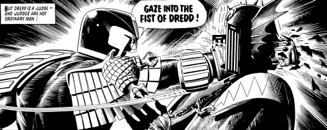 Gaze into the Fist of Dredd