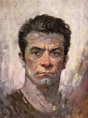 A self portrait of Frazetta from 1962