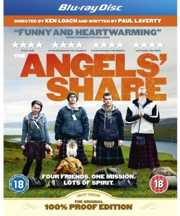The Angel's Share Blu-ray cover