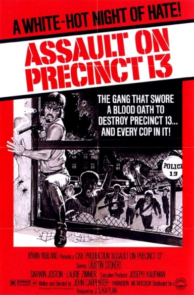 Assault on Precinct 13 theatrical poster