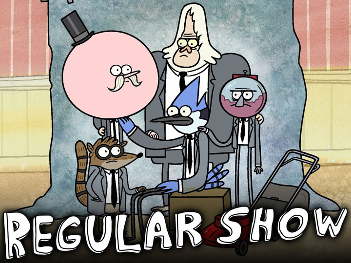 The cast from Regular Show