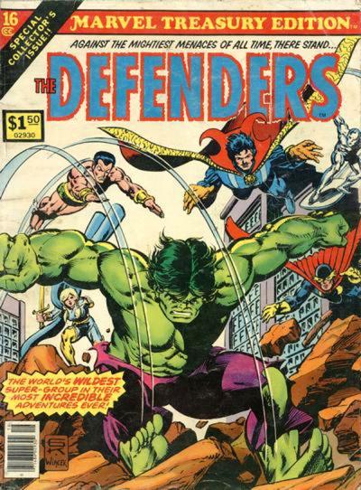 Marvel Treasury 16