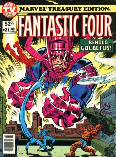 Marvel Treasury 21