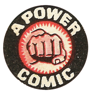 Power Comics logo