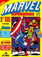 Marvel Superheroes issue 1