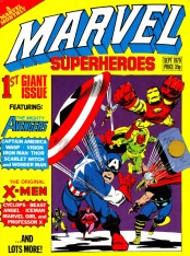 Marvel Superheroes issue 1