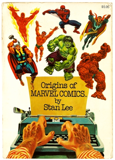 Origins of Marvel Comics 1974