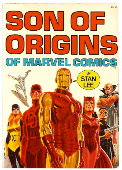 Son of Origins of Marvel Comics front cover
