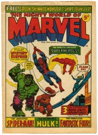Where it all began: The Mighty World of Marvel, issue #1