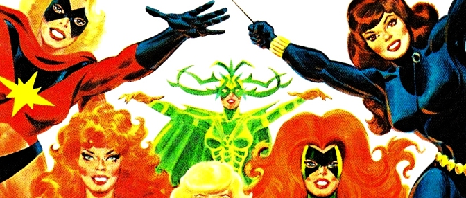 The Superhero Women (1977)