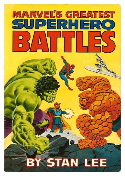 Marvel's Greatest Superhero Battles cover