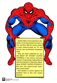 Best of Spidey Super Stories Back cover