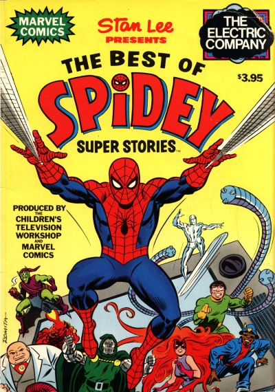 Best of Spidey Super Stories cover
