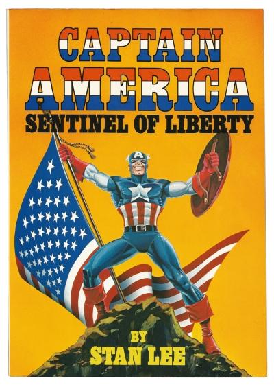 Captain America, Sentinel of Liberty cover