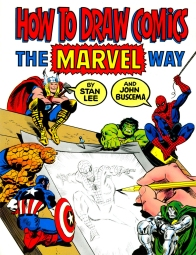 How to Draw Comics the Marvel Way, front cover