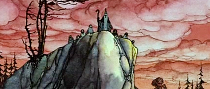 The first Tolkien movie trilogy, part 1: The Hobbit (1977)
