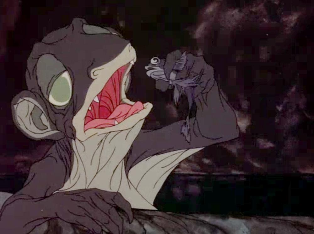 the first tolkien movie trilogy part 1 the hobbit 1977
