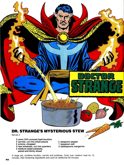 The Mighty Marvel Superheroes' Cookbook page 44