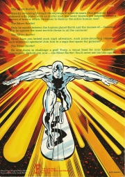 The Silver Surfer: The Ultimate Cosmic Experience back cover
