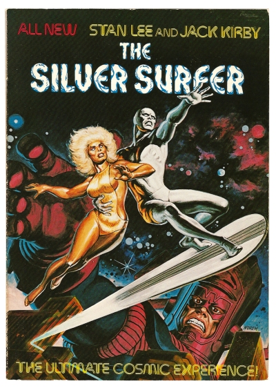 The Silver Surfer- The Ultimate Cosmic Experience cover