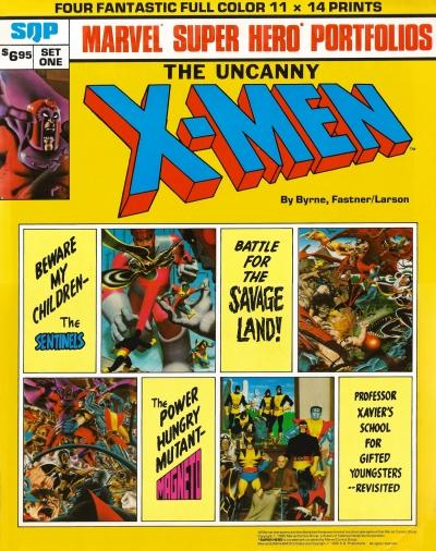 X-Men porfolio cover