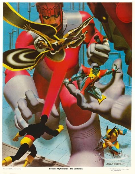 X-Men porfolio plate 1