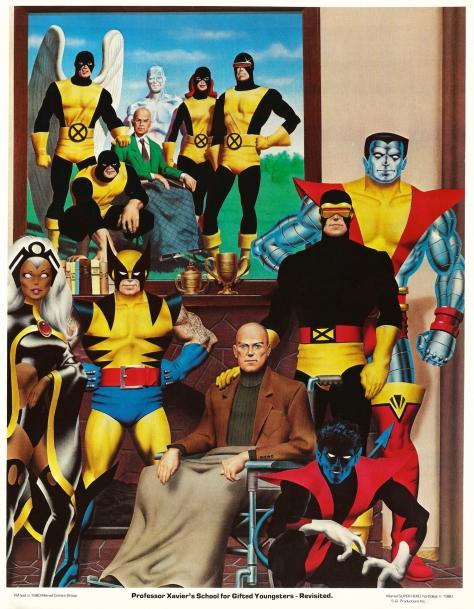 X-Men porfolio plate 4