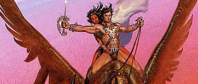 Paperback covers #5: The Martian Tales of Edgar Rice Burroughs