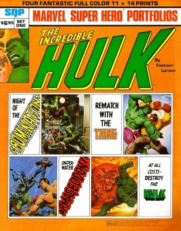 Hulk porfolio cover