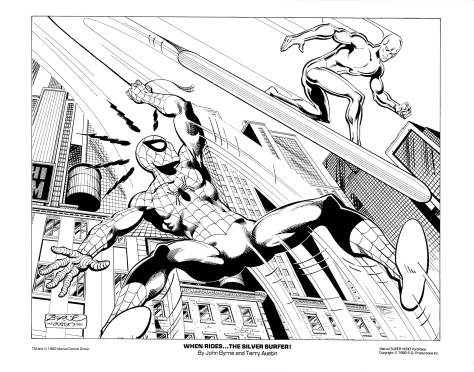 Marvel Team-Up portfolio print 3