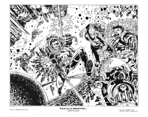 Marvel Team-Up portfolio print 4
