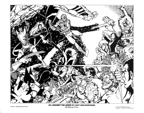 Marvel Team-Up portfolio print 5
