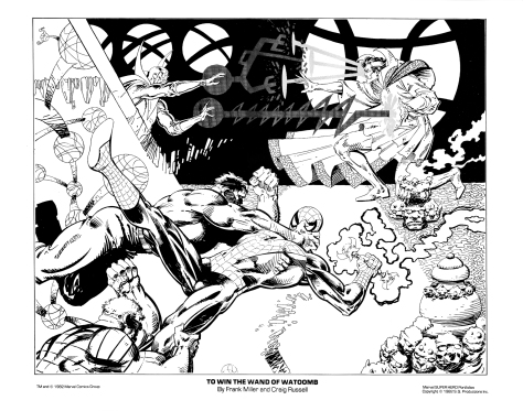 Marvel Team-Up portfolio print 6