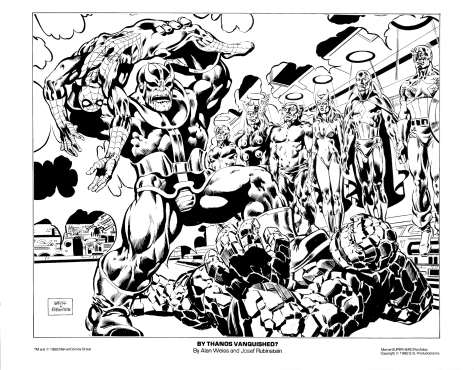 Marvel Team-Up portfolio print 1