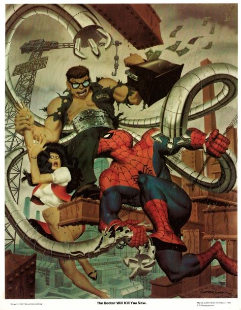 Spider-Man portfolio plate 1