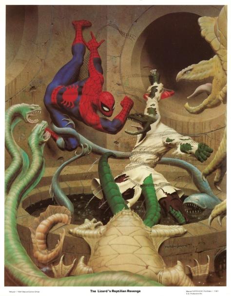Spider-Man portfolio plate 2