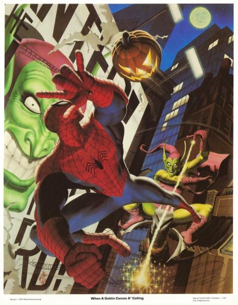 Spider-Man portfolio plate 3
