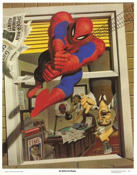 Spider-Man portfolio plate 4