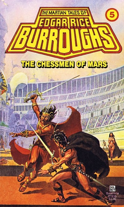 The Chessman of Mars