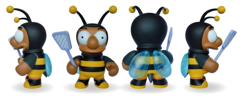 Bumble Bee Man – all sides